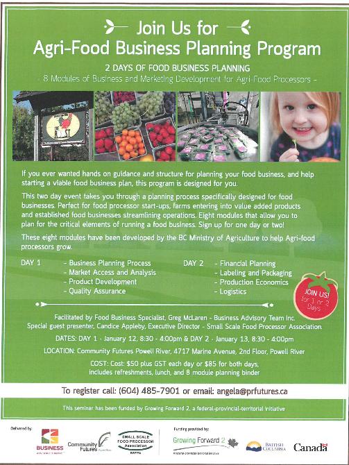Agri-Food poster