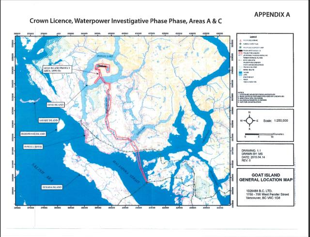 waterpower goat island map