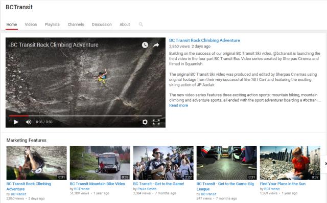 bc transit videos