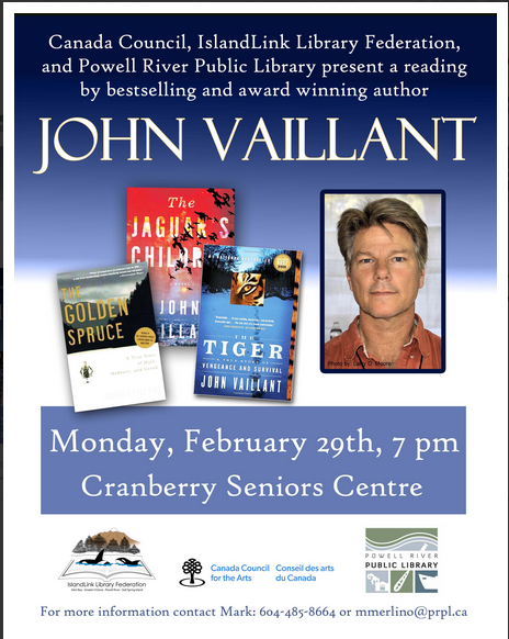 John Vaillant poster