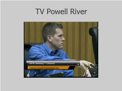 tv powell river