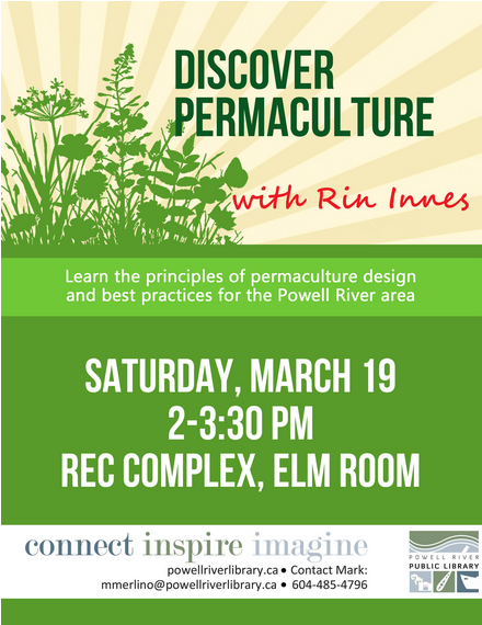 discover permaculture poster
