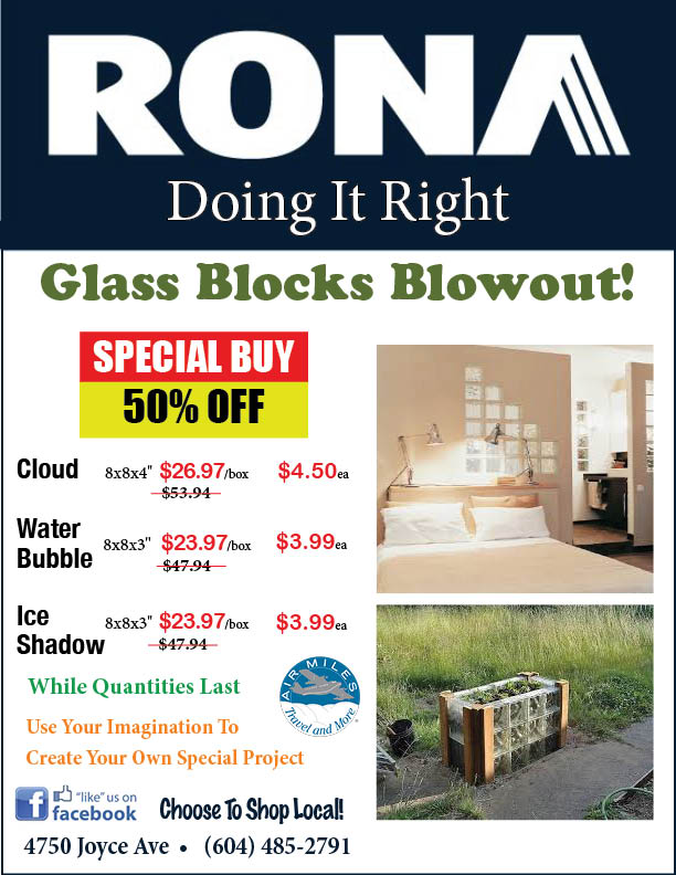 RONA Glass Blocks