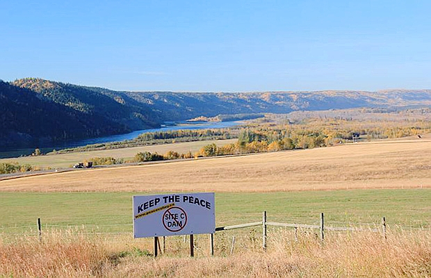 Environmental review hearings began Monday into B.C. Hydro's proposed Site C hydroelectric dam on the Peace River. The $8-billion project would flood an 83-kilometre stretch of the Peace River between Fort St. John and Hudson's Hope, including an estimated 30 homes.