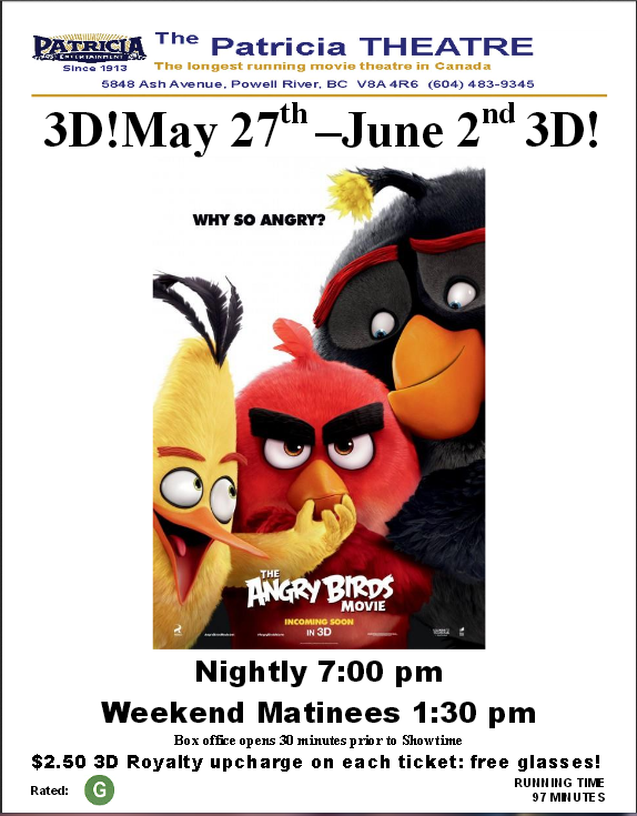Patricia Angry birds poster