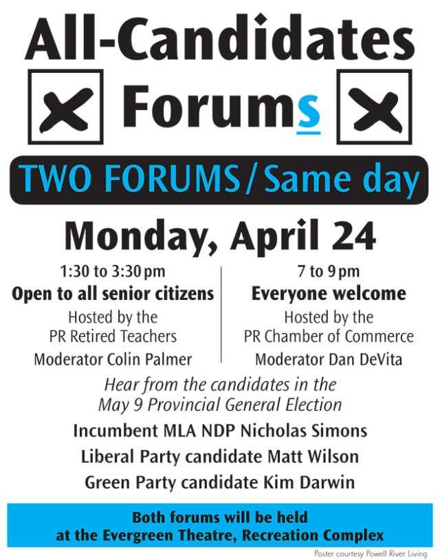 all candidate election forums poster 2017 (002)